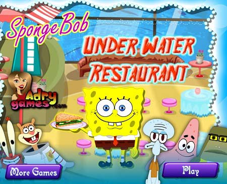 بازی رستوران زیر آب باب اسفنجی