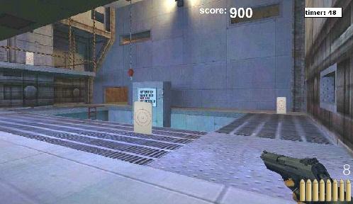 بازی فلش آنلاین هدفگیری کانتر aim-conter