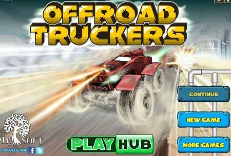 بازی سرعت ماشین جنگی Offroad Truckers