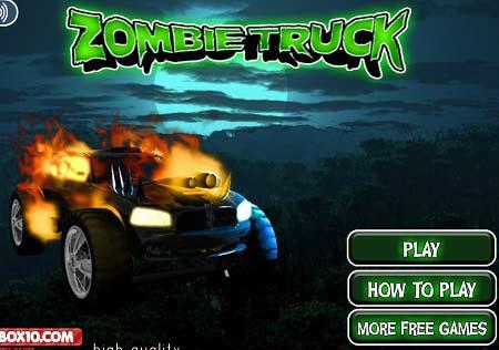 بازی سرعت کامیون زامبی