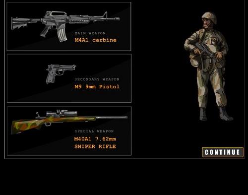 بازی فلش آنلاین کشتن بن لادن