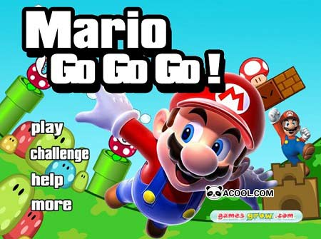 بازی ماریو رکوردی- Mario Go Go Go
