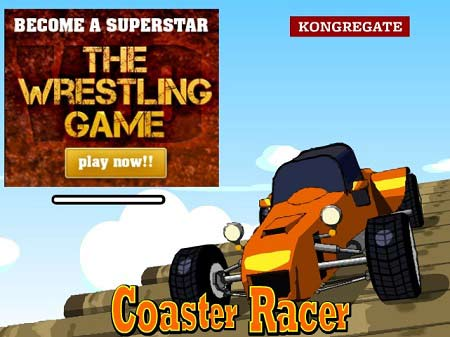 بازی رکوردی ماشینی -Coaster Racer