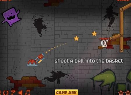 بازی توت تو سبد Cannon Basketball 2