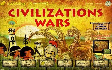 بازی لشکر کشی تمدن ها - Civilization wars