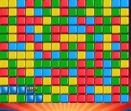بازی رکوردی همرنگها -Cube Crush HD