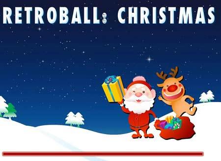 بازی هدیه های کریسمس Retroball christmas