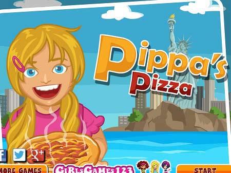 بازی پیتزا فروشی -Pippas Pizza