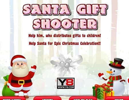 بازی پرتابی هدیه های کریسمس -Santa Gift Shooter
