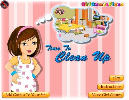 دانلود بازی فلش آنلاین دخترانه مرتب کردن اتاق