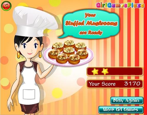 دانلود بازی فلش آنلاین دخترانه درست کردن دلمه قارچ-آشپزی