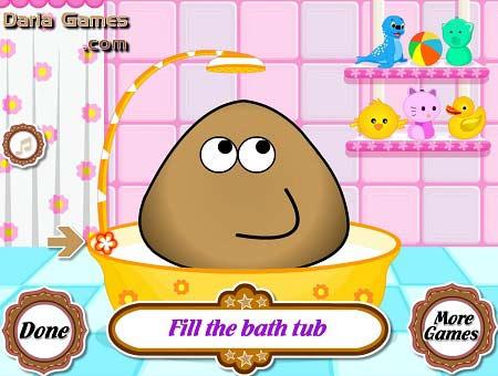 بازی حمام پو