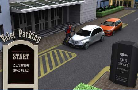 بازی مامور پارک ماشین3D