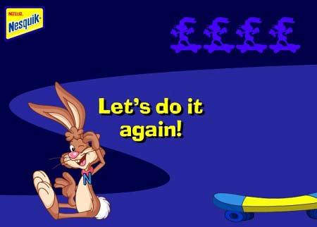 بازی خرگوش بی حواس