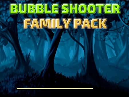 بازی توپ های رنگی Bubble Shooter Family Pack