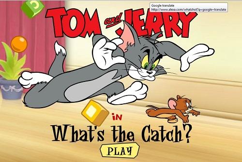 دانلود بازی فلش آنلاین تعقیب تام و جری