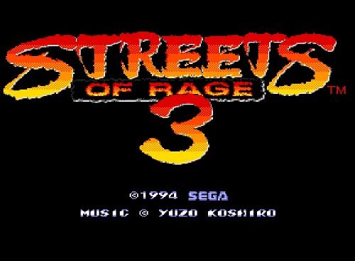 دانلود بازی سگا شورش در شهر سه-3 streets of rage-sega