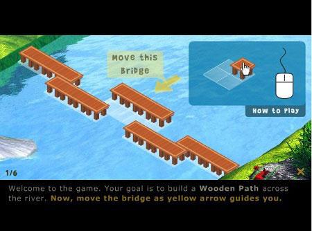 بازی مسیر چوبی