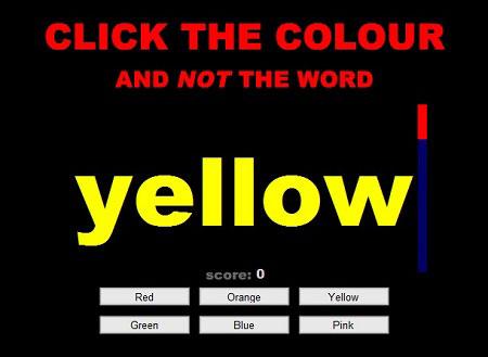 بازی خواندن رنگها
