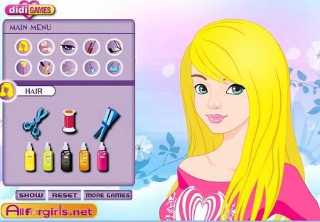 بازی آرایشی دخترانه