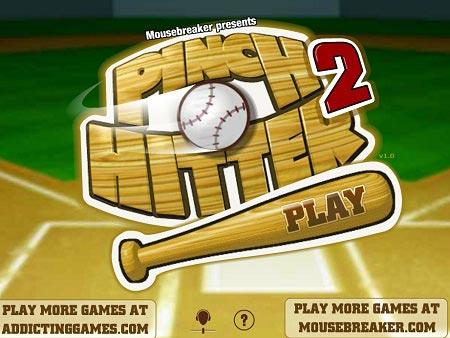 بازی بیسبال ضربه ای