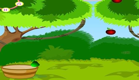 بازی آنلاین سبد میوه