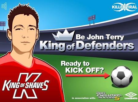 بازی فوتبالی پادشاه دفاع ها