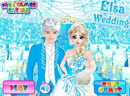 بازی عروسی السا