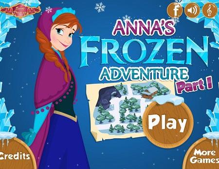 بازی ماجرای  السا و آنا anna frozen adventure