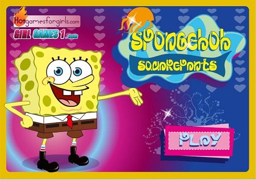 دانلود بازی فلش آنلاین دخترانه لباس باب اسفنجی sponge bob