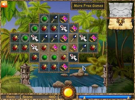 بازی فلش آنلاین پازل جورچین جدید-Treaslire Puzzle