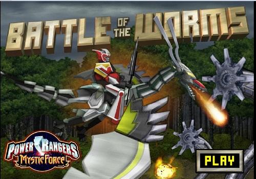 دانلود بازی فلش آنلاین مرحله ای اژدها سواری power rangers
