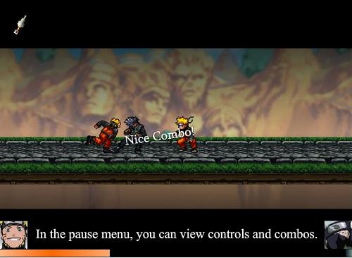 دانلود بازی فلش آنلاین ناروتو naruto-ng