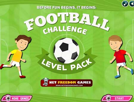 بازی فوتبال چلنج