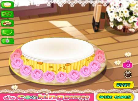 بازی تزیین کیک