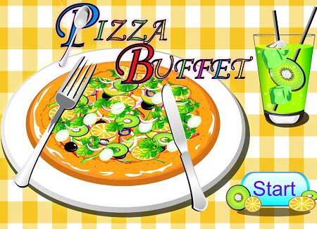 بازی پخت پیتزا