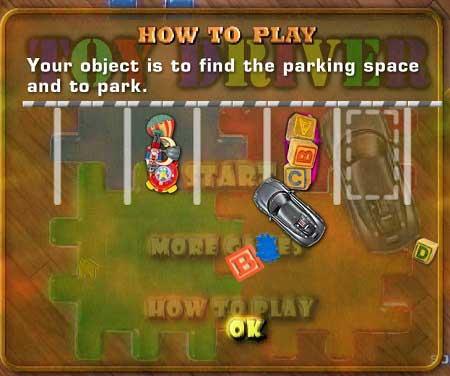 بازی پارک ماشین اسباب بازی
