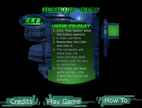 دانلود بازی فلش تست-آزمایش حافظه ذهن به خاطر سپردن رنگ