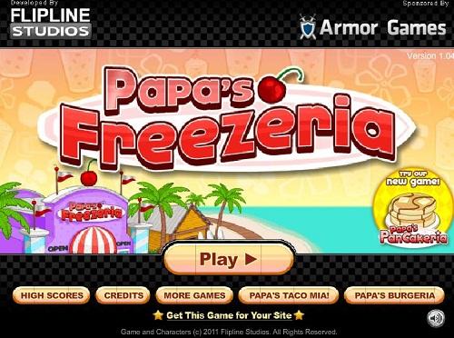 دانلود بازی فلش آنلاین مديريت بستني فروشي دخترانه