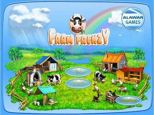 دانلود بازی فلش فارم فرنزی 1 farm frenzy
