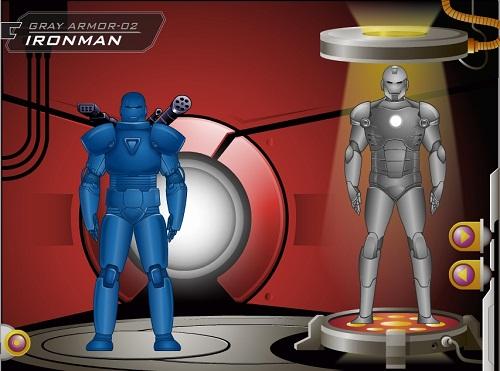 دانلود بازی فلش لباسهای آیرون من-مردآهنی ironman