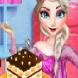 بازی کیک پختن السا