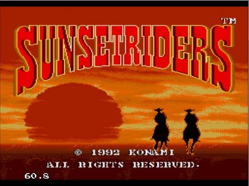دانلود بازی سگا کابوی یا کلانتر Sunset Riders برای کامپیوتر