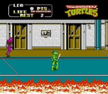 دانلود بازی لاکپشتهای نینجا میکرو شماره 1و2 ninja turtles micro-برای کامپیوتر