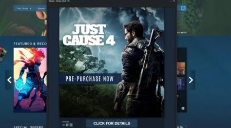 خبر بازی Just Cause 4 و استیم