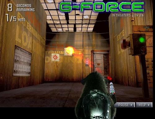 دانلود بازی فلش جی فرس G-force تیراندازی