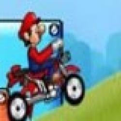 بازی موتور سواری ماریو