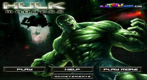 دانلود بازی فلش آنلاین اکشن و مرحله ای هالک-hulk