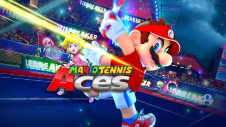 بازی Mario Tennis Aces پرفروشترین بازی انگلستان شد