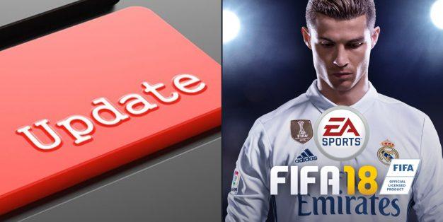 آموزش آپدیت FIFA 18 برای پلی استیشن PS4